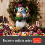 Fun Crafts for Seniors to Make This Winter