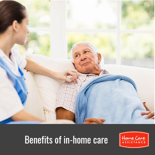 Benefits of in home care in Burlington, VT